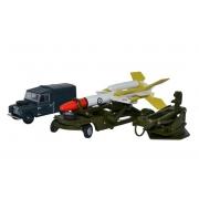 Miniatura Land Rover Bloodhound Missile Set 1/76 Oxford