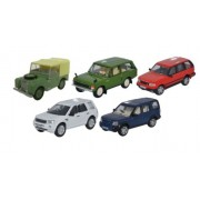 Miniatura Land Rover Classic Set 5 Pieces 1/76 Oxford