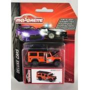 Miniatura Land Rover Defender 110 Laranja Deluxe Cars 1/64 Majorette