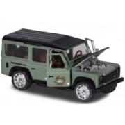 Miniatura Land Rover Defender 110 Verde Deluxe Cars 1/64 Majorette