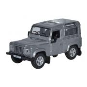 Miniatura Land Rover Defender 90 Station Wagon Grey 1/76 Oxford