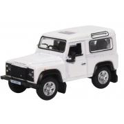 Miniatura Land Rover Defender 90 White 1/76 Oxford