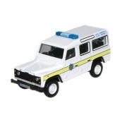 Miniatura Land Rover Defender Station Wagon Police 1/76 Oxford