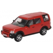 Miniatura Land Rover Discovery 3 Red 1/76 Oxford