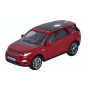 Miniatura Land Rover Discovery Sport Red 1/76 Oxford