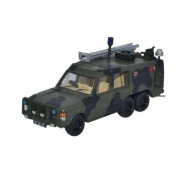 Miniatura Land Rover Militar TACR2 Camouflage 1/76 Oxford