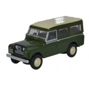 Miniatura Land Rover Serie 2 Green 1/76 Oxford