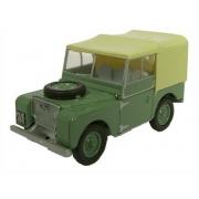 Miniatura Land Rover Series I 80 Sage Green 1/76 Oxford
