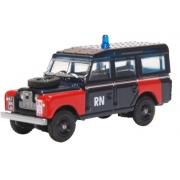 Miniatura Land Rover Series II LWB Bomb Disposal Police 1/76 Oxford
