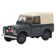 Miniatura Land Rover Series II SWB Canvas Police 1/76 Oxford
