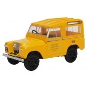 Miniatura Land Rover Series II SWB Post Office Yellow 1/43 Oxford