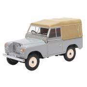 Miniatura Land Rover Series III Canvas Grey 1/43 Oxford