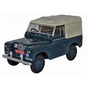 Miniatura Land Rover Series III Canvas Police 1/43 Oxford