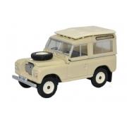 Miniatura Land Rover Series III Station Wagon Limestone 1/76 Oxford