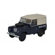 Miniatura Land Rover Series III SWB Canvas Navy 1/76 Oxford