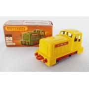 Miniatura Locomotiva Diesel Shunter N°24 1/64 Matchbox
