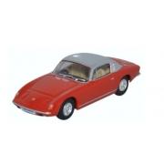 Miniatura Lotus Elan Red and Silver 1/76 Oxford