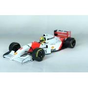 Miniatura McLaren Ford MP4/8 Ayrton Senna Winner European GP 1993 1/18 Minichamps