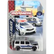 Miniatura Mercedes AMG G63 Polícia Thailand 1/64 Majorette