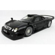 Miniatura Mercedes-Benz CLK-GTR Street Version Preta 1/18 MAISTO