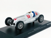 Miniatura Mercedes Benz W125 #14 Manfred 2nd Place Von Deutschland 1937 1/18 Minichamps