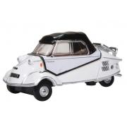 Miniatura Messerschmitt Bubble Car White 1/76 Oxford