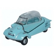 Miniatura Messerschmitt KR200 Bubble Top Light Blue 1/76 Oxford