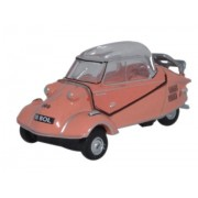 Miniatura Messerschmitt KR200 Bubble Top Rose 1/76 Oxford