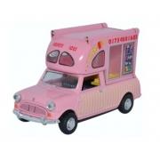 Miniatura Mini Batman Ice Cream Van Huskys Ices 1/43 Oxford