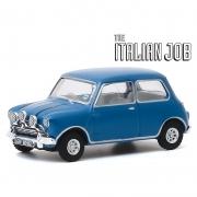 Miniatura Mini Cooper 1967 The Italian Job Azul 1/64 Greenlight