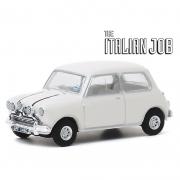 Miniatura Mini Cooper 1967 The Italian Job Branca 1/64 Greenlight