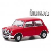 Miniatura Mini Cooper 1967 The Italian Job Vermelha 1/64 Greenlight