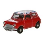 Miniatura Mini Cooper Austin Red Union 1/76 Oxford