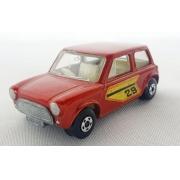 Miniatura Mini Cooper N°29  Superfast Lesney 1/64 Matchbox