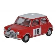 Miniatura Mini Cooper S MKII 1968 Monte Carlo Rally 1/76 Oxford