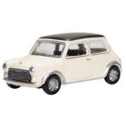 Miniatura Mini Cooper S MKII Snowberry 1/76 Oxford
