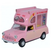 Miniatura Mini Van Huskys Ice Cream 1/43 Oxford