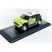 Miniatura Mini Cooper All4 Racing Rally 1/43 Ixo