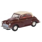 Miniatura Morris Minor Convertible Maroon 1/76 Oxford