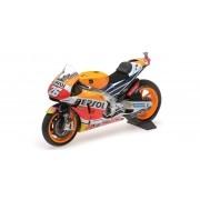 Miniatura Moto Honda Repsol Winner Dani Pedrosa San Marino 2016 1/12 Minichamps