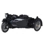 Miniatura Moto Sidecar AA BSA Police 1/76 Oxford