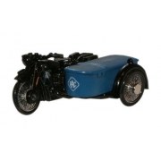Miniatura Moto Sidecar RAC BSA 1/76 Oxford