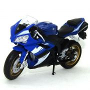 Miniatura Moto Yamaha YZF-R1 1/18 California Cycle