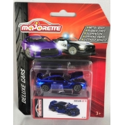Miniatura Nissan GT-R Azul Metálico Deluxe Cars 1/64 Majorette