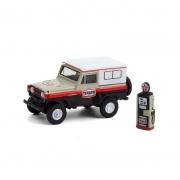 Miniatura Nissan Patrol 1967 Texaco 1/64 Greenlight