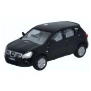 Miniatura Nissan Qashqai Black 1/76 Oxford