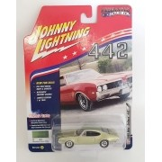Miniatura Olds Cutlass 1969 Muscle Cars 1/64 Johnny Lightning