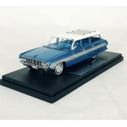 Miniatura Oldsmobile Dynamic Fiesta Wagon 1962 Blue 1/43 Goldvarg Collection