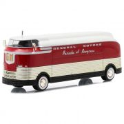 Miniatura Ônibus General Motors F Parade of Progress 1940 1/64 Greenlight