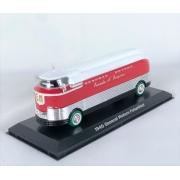 Miniatura Ônibus General Motors F Parade of Progress 1940 Green Machine 1/64 Greenlight